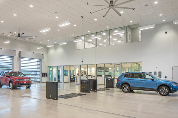 Baxter Volkswagen Westroads interior dealership image