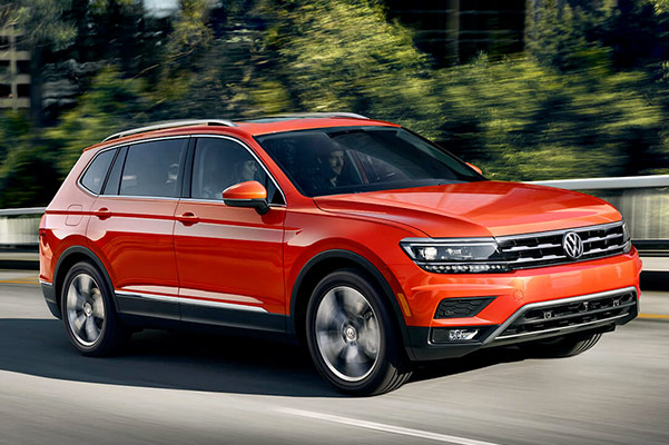 2019 Volkswagen Tiguan Specs & Safety Features