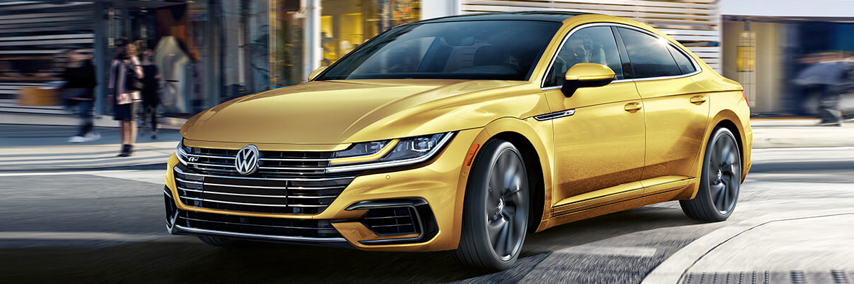 Compare the 2019 VW Arteon Exterior